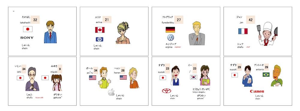 1課絵カード